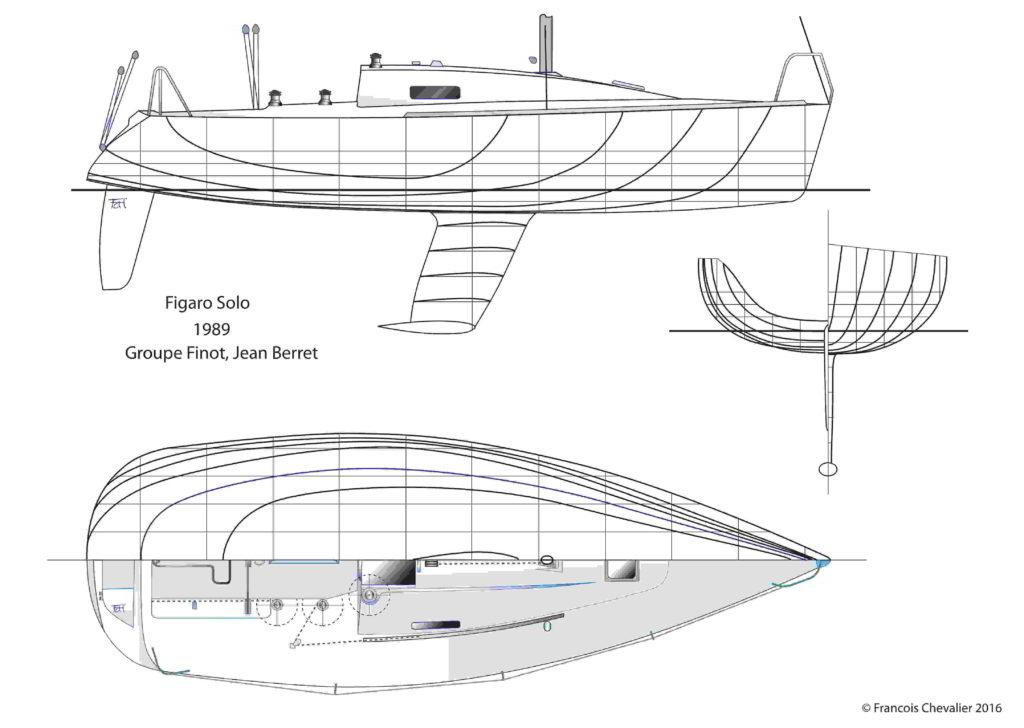 piano di costruzione del Figaro