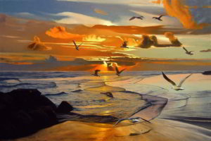 Dipinto n.9 (80x120 - paesaggi costieri