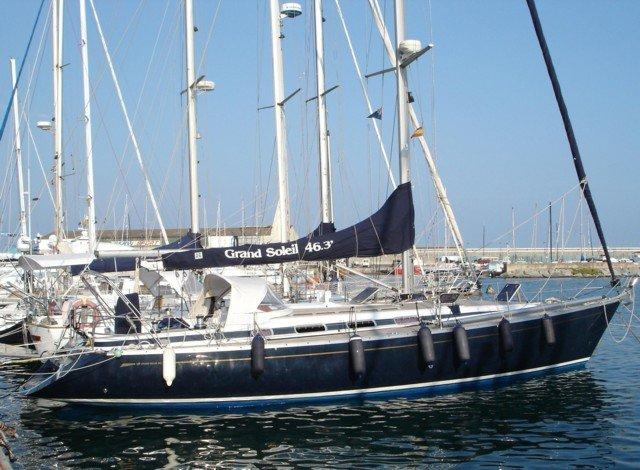 Grand Soleil 46.3- barca all'ormeggio