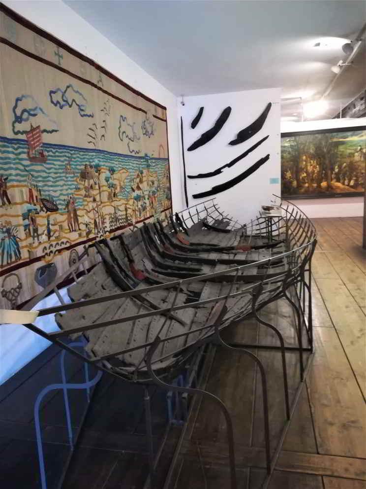 barca al museo navale di danzica