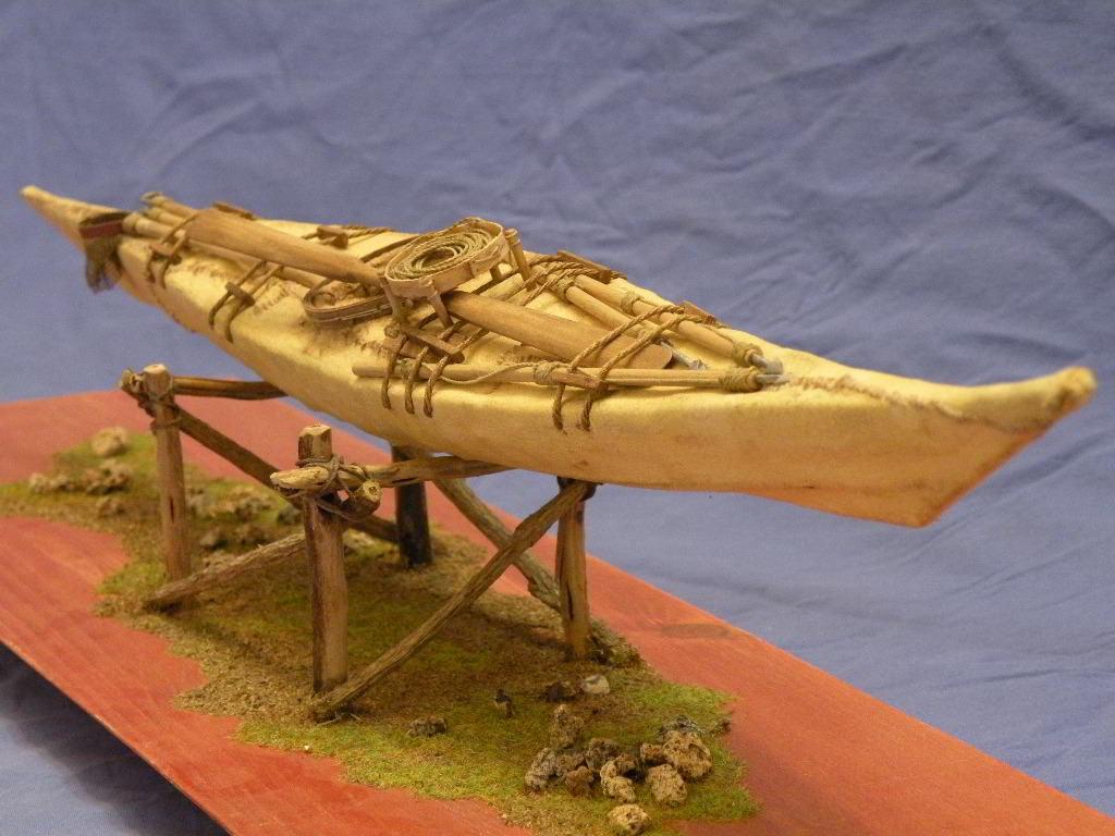 modello di kayak