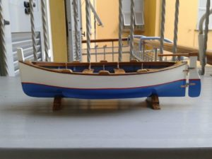 modello barca