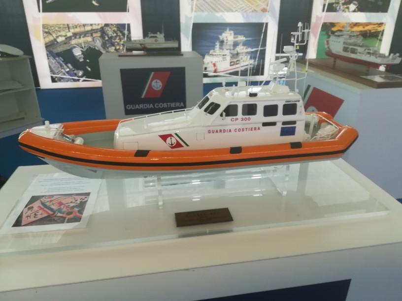 salone nautico - modello motovedetta classe 300
