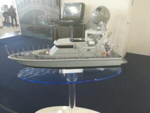 modello pattugliatore al salone nautico
