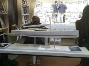 modello yacht a vela