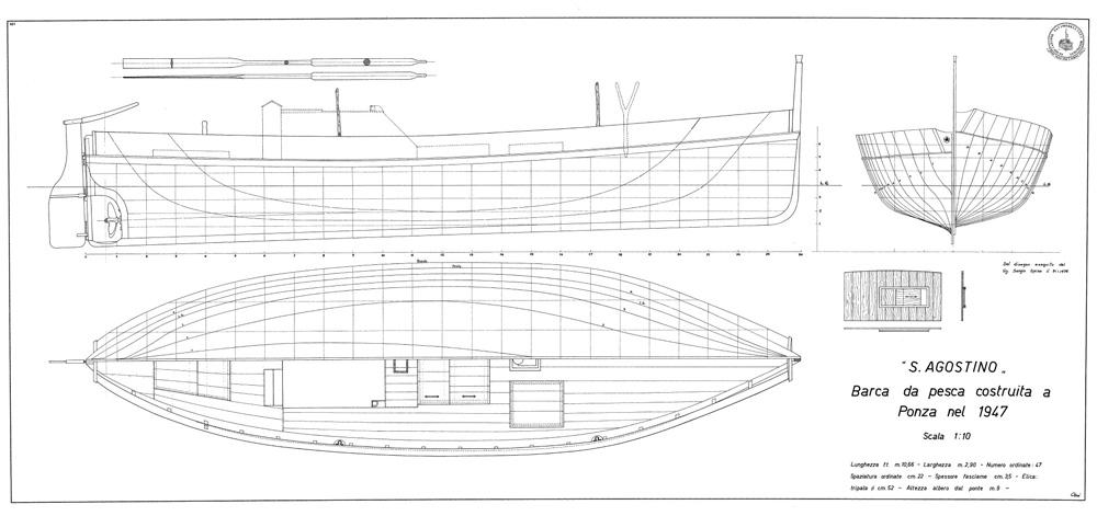 piano di costruzione di filuga