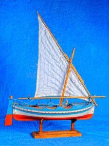 modello di buzzu trapanese - imbarcazione tipica siciliana