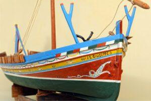 modello di sardara - imbarcazione tipica siciliana