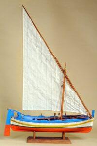 modello di uzzareddu - imbarcazione tradizionale siciliana
