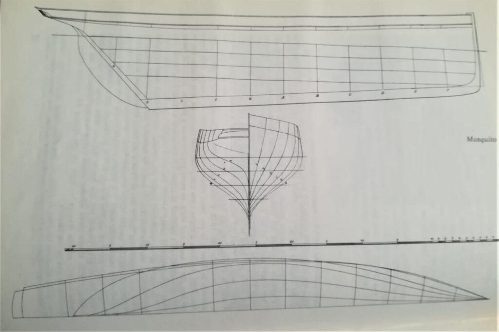 piano di costruzione del cutter mosquito